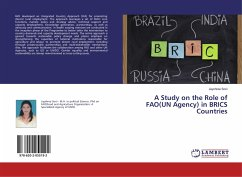 A Study on the Role of FAO(UN Agency) in BRICS Countries
