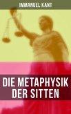 Die Metaphysik der Sitten (eBook, ePUB)