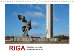 9783669394406 - Hallweger, Christian: Riga - Mittelalter, Jugendstil, Sozialismus und Moderne (Wandkalender 2018 DIN A4 quer) - Buch