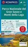 Kompass Karte Parco Nazionale del Gran Sasso e Monti della Laga