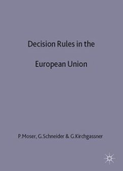Decision Rules in the European Union: Rational Choice Perspective