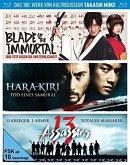 Takashi Miike - Box - 13 Assassins, Hara-Kiri: Death of a Samurai, Blade of the Immortal) Bluray Box