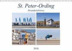9783669394499 - Falke, Manuela: St. Peter-Ording Stranderlebnisse (Wandkalender 2018 DIN A3 quer) - Buch