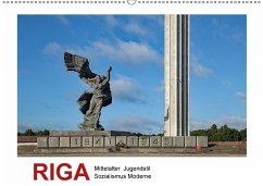 9783669394420 - Hallweger, Christian: Riga - Mittelalter, Jugendstil, Sozialismus und Moderne (Wandkalender 2018 DIN A2 quer) - Buch