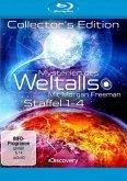 Mysterien des Weltalls - Mit Morgan Freeman, Staffel 1-4 (Collector's Edition, 4 Discs)