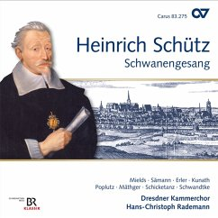Der 119.Psalm (Schwanengesang),Schütz-Ed.Vol.16 - Mields/Sämann/Poplutz/Rademann/Dresdner Kammerchor