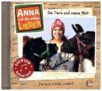 Anna und die wilden Lieder - Die Tiere sind meine Welt - Das Liederalbum, 1 Audio-CD
