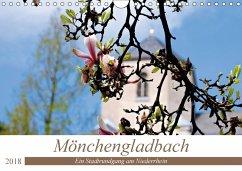 9783669394383 - Bergmann, Daniela: Mönchengladbach - Ein Stadtrundgang am Niederrhein (Wandkalender 2018 DIN A4 quer) - Buch