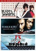 Takashi Miike - Box - 13 Assassins, Hara-Kiri: Death of a Samurai, Blade of the Immortal) DVD-Box