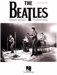 Sheet Music Collection, For Piano, Voice & Guitar - The Beatles