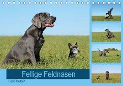 9783669394826 - Hultsch, Heike: Fellige Feldnasen (Tischkalender 2018 DIN A5 quer) - Buch