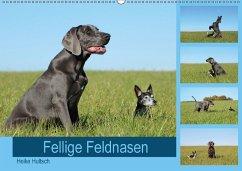 9783669394819 - Hultsch, Heike: Fellige Feldnasen (Wandkalender 2018 DIN A2 quer) - Buch