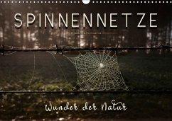 Spinnennetze - Wunder der Natur (Wandkalender 2018 DIN A3 quer)