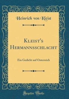 Kleist's Hermannsschlacht