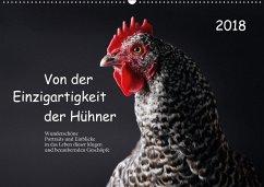 9783669394925 - Peters, Birte: Von der Einzigartigkeit der Hühner (Wandkalender 2018 DIN A2 quer) - Buch