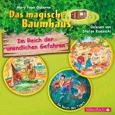 Im Reich der unendlichen Gefahren / Das magische Baumhaus Bd.16-18 (3 Audio-CDs)