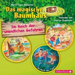Im Reich der unendlichen Gefahren / Das magische Baumhaus Bd.16-18 (3 Audio-CDs) - Pope Osborne, Mary