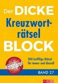 Der dicke Kreuzworträtsel-Block Band 27