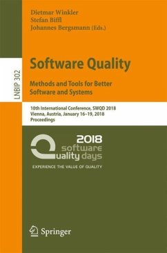 Software Quality: Methods and Tools for Better ...
