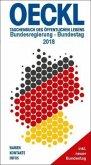 OECKL. Taschenbuch des Öffentlichen Lebens 2018 - Bundesregierung, 19. Deutscher Bundestag