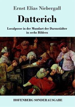 9783743721289 - Niebergall, Ernst Elias: Datterich - Buch