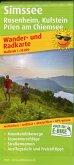 PublicPress Wander- und Radkarte Simssee, Rosenheim, Kufstein, Prien am Chiemsee