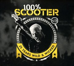100% Scooter-25 Years Wild & Wicked (3cd-Digipak) - Scooter