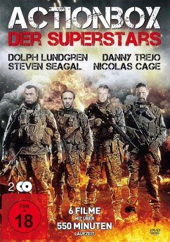 Actionbox Der Superstars (2 Dvds Mit 6 Filmen)