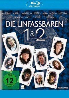 Die Unfassbaren - Now you see me 1 &2 - 2 Disc Bluray