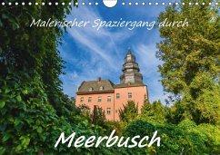 Malerischer Spaziergang durch Meerbusch (Wandkalender 2018 DIN A4 quer)