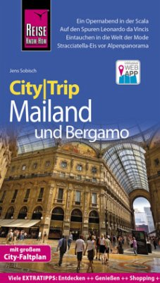 Reise Know-How CityTrip Mailand und Bergamo - Sobisch, Jens