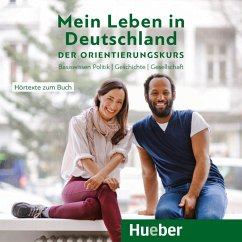 Mein Leben in Deutschland - der Orientierungskurs, 1 Audio-CD - Buchwald-Wargenau, Isabel