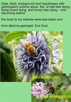 Data, facts, background and hypotheses with participatory actions about the of wild bee dying, flying insect dying and honey bee dying - and becoming extinct (eBook, ePUB) - Dust, Eva