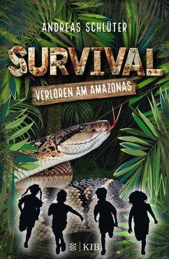 Verloren am Amazonas / Survival Bd.1 - Schlüter, Andreas