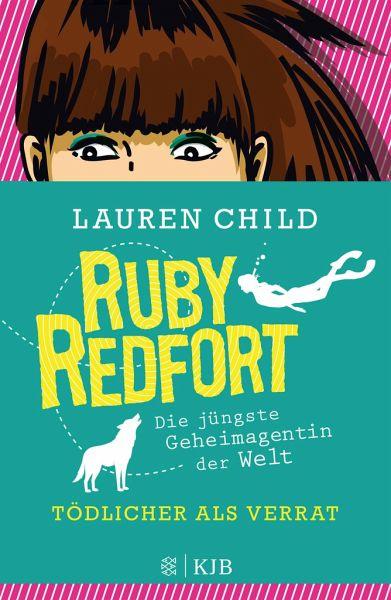 Buch-Reihe Ruby Redfort von Lauren Child