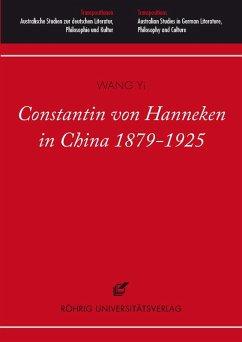 Constantin von Hanneken in China 1879-1925 (eBook, PDF) - Wang, Yi