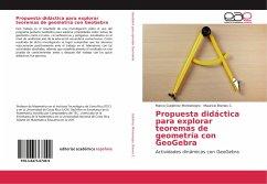 Propuesta didáctica para explorar teoremas de geometría con GeoGebra