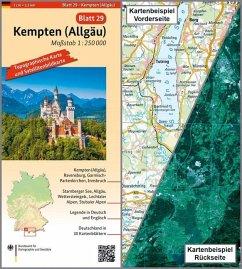 Topographische Karte und Satellitenbildkarte Kempten (Allgäu) - BKG - Bundesamt für Kartographie und Geodäsie