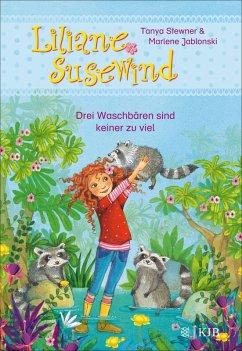 Drei Waschbaren sind keiner zu viel / Liliane Susewind ab 6 Jahre Bd.8