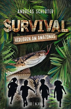Verloren am Amazonas / Survival Bd.1 (eBook, ePUB) - Schlüter, Andreas