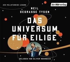 Das Universum für Eilige, 4 Audio-CDs - Tyson, Neil deGrasse