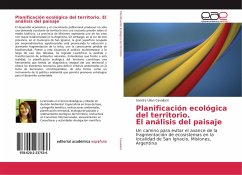 Planificación ecológica del territorio. El análisis del paisaje