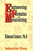 Engineering Formulas for Metalcutting (eBook, ePUB)