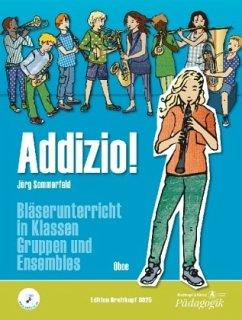 Addizio! Schülerheft, Oboe - Sommerfeld, Jörg