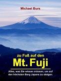Zu Fuß auf den Mt. Fuji (eBook, ePUB)