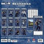 Seattle Seahawks 2018 12x12 Team Wall Calendar