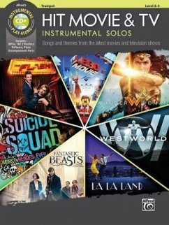 Hit Movie & TV Instrumental Solos, Trumpet, w. Audio-CD