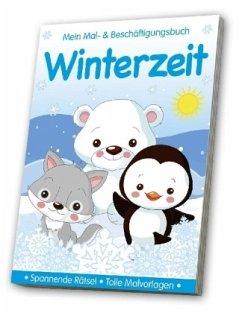 Malbuch Winterzeit