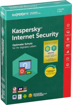 Kaspersky Internet Security 2 Geräte Limited(CIAB)