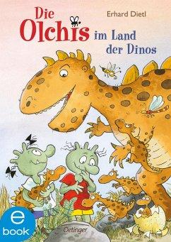 Die Olchis im Land der Dinos / Die Olchis Erstleser Bd.1 (eBook, ePUB) - Dietl, Erhard; Iland-Olschewski, Barbara